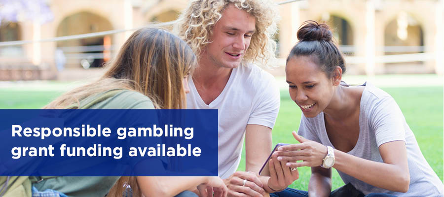 Responsible Gambling Grant Funding Available
